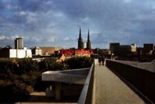 PHOTO  1972 COVENTRY RING ROAD BRIDGE AND SPIRES THE BISHOP STREET FOOTBRIDGE OV