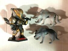 "Destiny 4"" Lord Saladin and His Wolf Pack Figure Set Bigshot Toyworks"