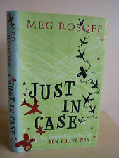 Just in Case By Meg Rosoff 1/1 HB 2006 NEW.