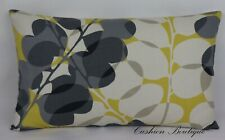 "Scion Lunaria Fabric Handmade Cushion Cover 12""x20"" Sunflower Oblong Rectangular"