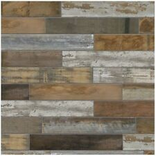 Wood Vintage Porcelain Floor Wall Tile Shower Kitchen Flooring Backsplash 6 X 24