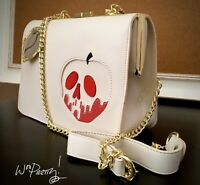 2019 LOUNGEFLY Disney Snow White Poisoned Apple Crossbody Handbag Purse NWT
