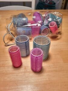 Hair Rollers Self-Grip Curlers Various Sizes And Multicolored