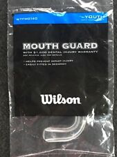 Wilson Youth Mouth Guard Clear Wtfmg140 Strapless