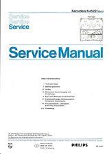 Service Manual-Anleitung für Philips N 4522