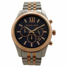 Michael Kors Men's Lexington 100m Two-Tone Stainless Steel Watch MK8412