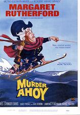 Margaret Rutherford On Surboard Poster Artwork Murder Ahoy 11x17 Mini Poster