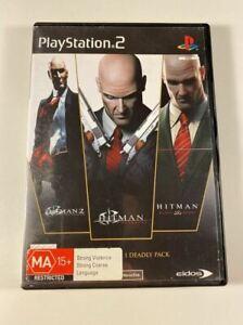 Hitman The Triple Hit Pack PS2 GC PAL