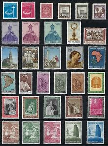 Vatican -   Collection of MNH Stamps..............................B-212