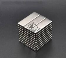 20Pcs N50 Super Strong Block Cuboid Magnets Rare Earth Neodymium 30 x 10 x 3 mm