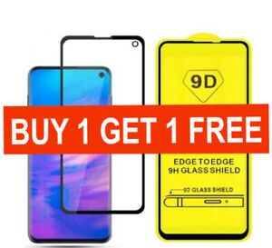Screen protector for Samsung galaxy s10e 9D tempered glass full cover hard irish