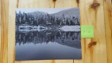 8x10 Black and White Reservoir / Landscape photography by Kristina Geroux