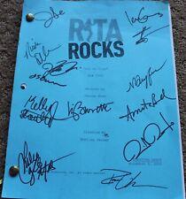 CAST SIGNED RITA ROCKS TV SHOW SCRIPT EPISODE GOT NO TIME