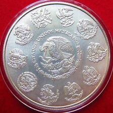 2012  MEXICO LIBERTAD SILVER COIN SERIES,  Uncirculated 1 Oz. 999% Purity Lot #3