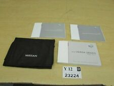 2014 Nissan versa sedan owners manual book jacket instruction booklet OEM