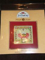 MILL HILL JIM SHORE Counted Cross Stitch Kit - JS14-8503 - PERCY PIG