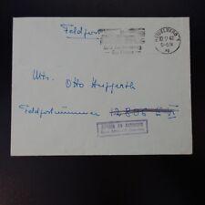ALLEMAGNE LETTRE FELDPOST BRIEF HEIDELBERG 10.09.1942