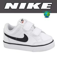 Nike Toddler Size 5C Capri 3 LTR (TDV) Leather Shoes Sneakers 579949 106 White