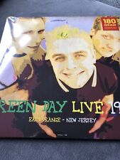 """GREEN DAY """"IN NEW JERSEY 1994"""" NEW PRESSING ON 180 G GREEN VINYL LP"""