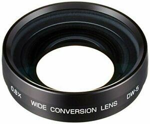 Ricoh DW-5 0.8X Wide-Angle 22mm Conversion Lens (Black)#171933