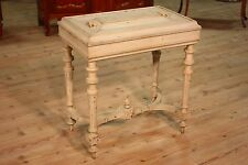 Antique side table lacquered wood furniture living room planter antiques 800