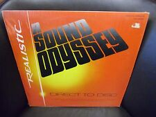 A Sound Odyssey Direct To Disc RED Colored Instrumenta LP Realistic EX IN Shrink