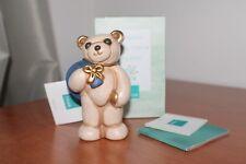 Thun vintege, orso Teddy con sacco. Altezza 10,5 cm.