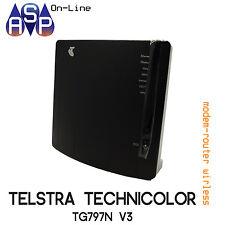 BRAND NEW TELSTRA T-GATEWAY ADSL MODEM ROUTER WI-FI TECHNICOLOR TG797nV3
