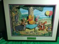 Rare Animated Animations Hip Hip PoohRay Musical Moving Picture Winnie The Pooh