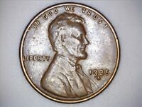 1935 S Lincoln Wheat Cent Penny - 032802