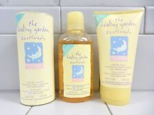 THE HEALING GARDEN ZZZ THERAPHY FOR BABY *COMPLETE BATH 3-PIECE KIT*