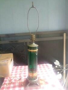 Antique Satin Glass Lamp