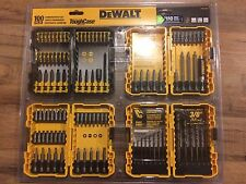 DEWALT 100 PC DRILL / DRIVER BIT SET W/ (4) TOUGH CASES - DWA24CASE2