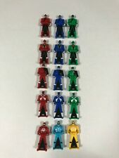 power rangers super megaforce ranger keys (5 sets)