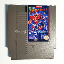 Nintendo NES Game Mega Man 5 Video Game Cartridge Console Card US/EU Universal E