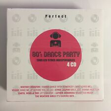 Perfect 80's Dance Party Coffret 4 cd neuf sous blister
