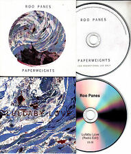 ROO PANES Paperweights 2015 UK 10-track promo CD + bonus disc Lullaby Love