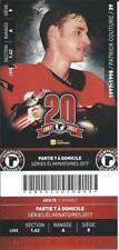 QMJHL Ticket - Quebec Remparts 20th Anniversary PATRICK COUTURE #39