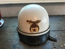Vintage Bell Shorty Helmet  Motorcycle Medium Toptex Star  Hella Dallas  Shriner