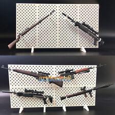 "1/6 Scale Modular Weapons Display Stand Wall Guns Rack Set 12"" Figure"