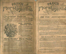 4 Park's Floral Magazine 1890s (illustrated)