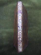 DISSERTATION sur l'ORIGINE DES FRANCS.Ribaud de la Chapelle 1748 in12plein veau