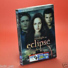 The twilight saga ECLIPSE DVD SPECIAL EDITION 2 DISCHI