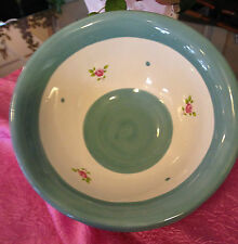 Gabriella Miller Designs by Fenton    Blue Cereal Bowls  Set of 3    New!