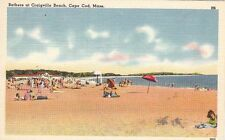 Postcard Bathers at Craigville Beach Cape Cod MA