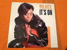 "HILARY feat Blak Twang - IT'S ON - 1996 UK 12"" Vinyl RnB/Hip Hop - VG/EX+"