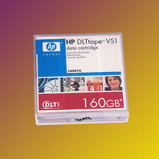 HP DLT VS1, C8007A, 80/160 GB, Data Cartridge, Datenkassette, NEU & OVP