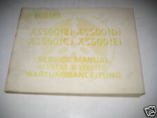 Werkstatthandbuch Grundhandbuch Yamaha XS 500 B / C / D / E Stand 03/1978