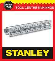 STANLEY 35-444 LONGLIFE BEVEL EDGE 1m METRIC FOLDING RULE – MADE IN ENGLAND