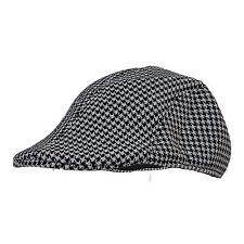 c65f419f9ad ZARA MAN Newsboy Flat Cap Dark Gray Grey Tweed Men s Sz Med M Cabbie New NWT.   16.12. Was  Previous Price 21.49 · Black   Grey Mens Stylish Tweed Wool ...